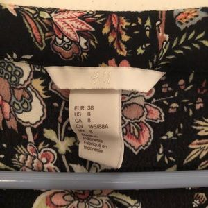 Floral top from H&M size 8